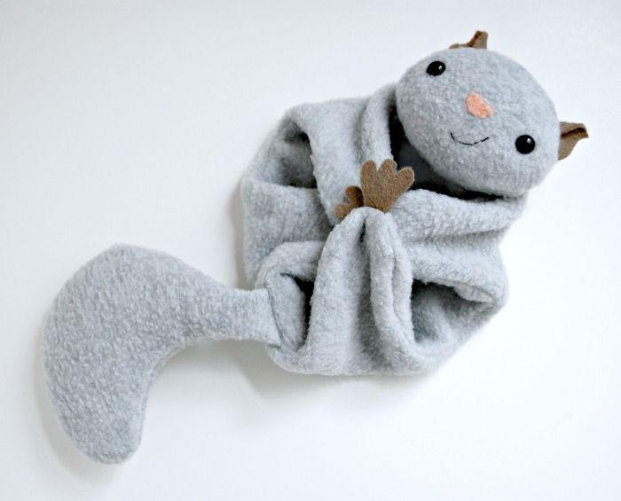 Flying Squirrel - A Free Pattern | Baby Kuscheltiere, Spielsachen ...