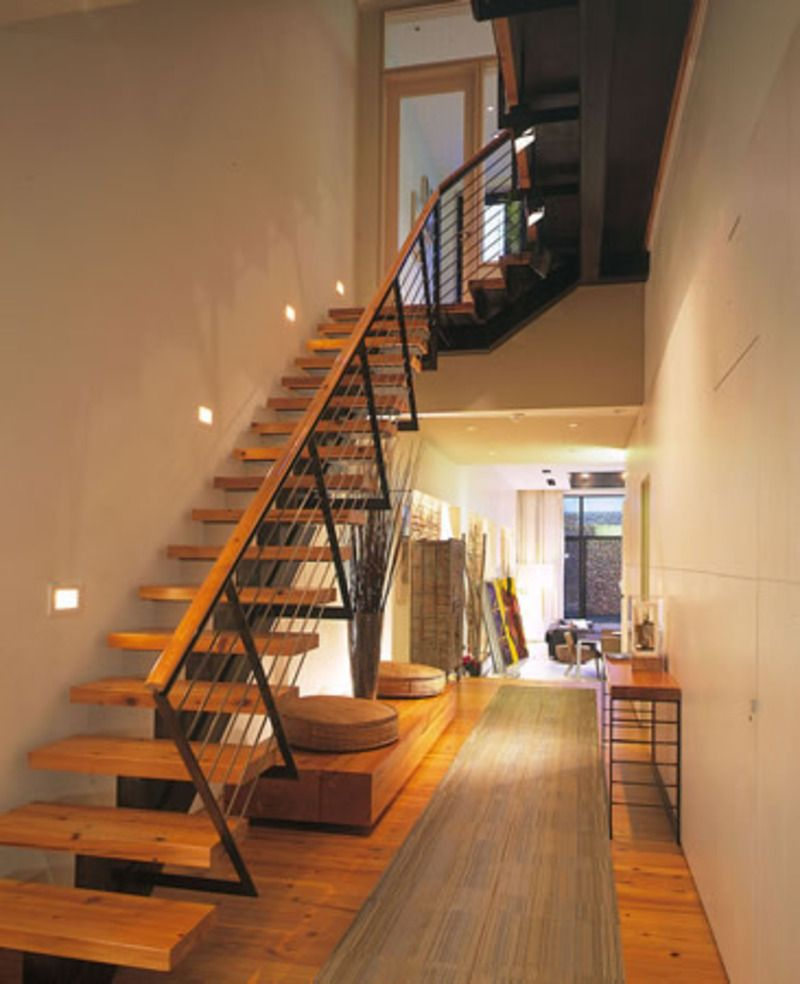 Best Wooden Front Stairs Corridor Design Recipes To Cook 400 x 300