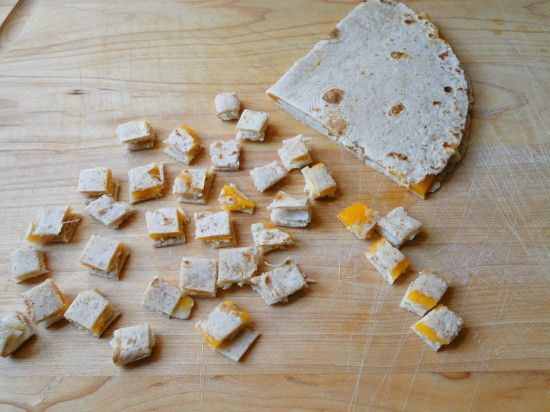 Turkey Cheese Quesadilla For Baby Find This Pin And More On Finger Food Recipes