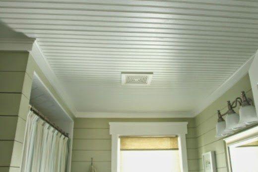 Charmant Bathroom Beadboard Ceiling