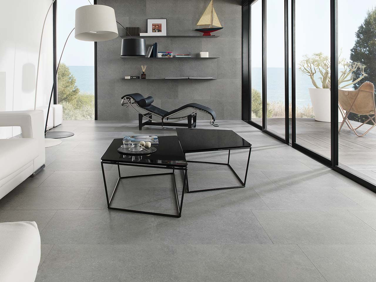 Known As The Porcelanosa Ceramic Stone STON KERR Is A Remarkably Resistant Material