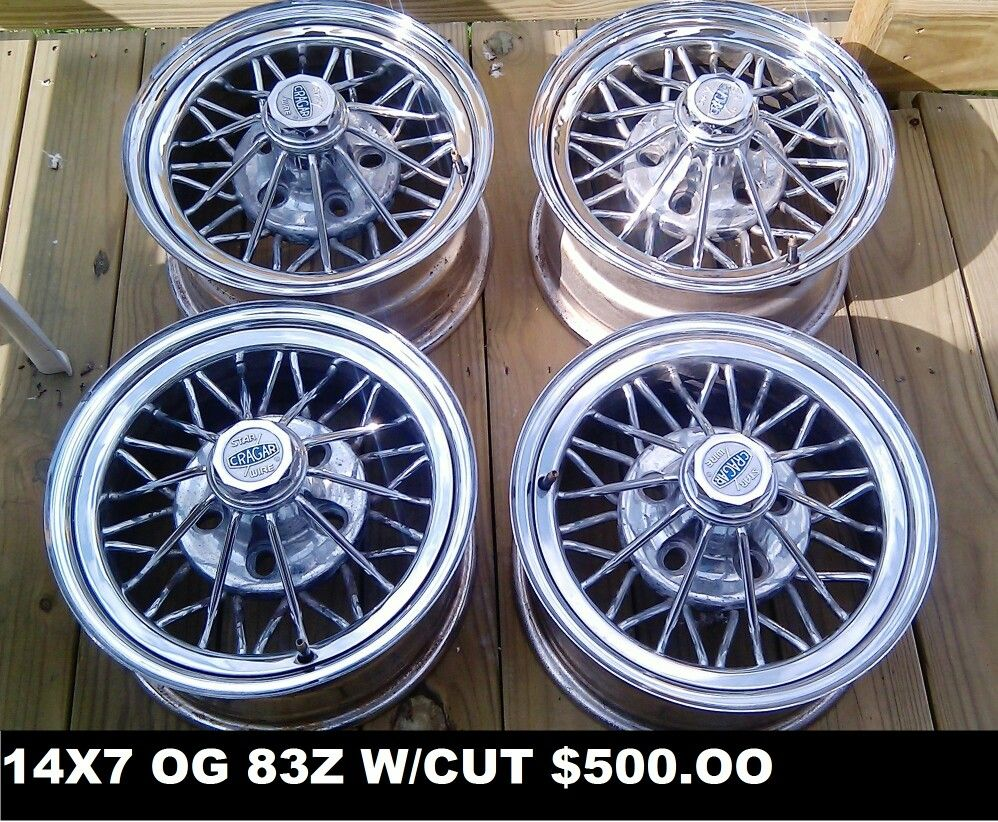 Lowrider rims 4 sale - For Sale Four 14x7 Fwd Weld Wheels Star Wire Wheels 500 00 Contact Chopshopmagazine2016