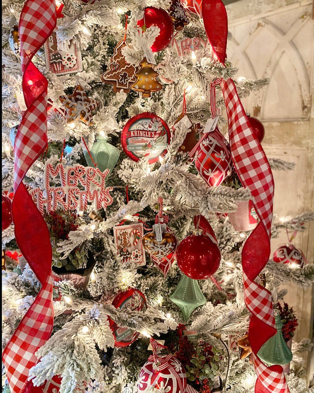 When it comes to Christmas I will tell you, we don't fool around! I think this is the most trees ...