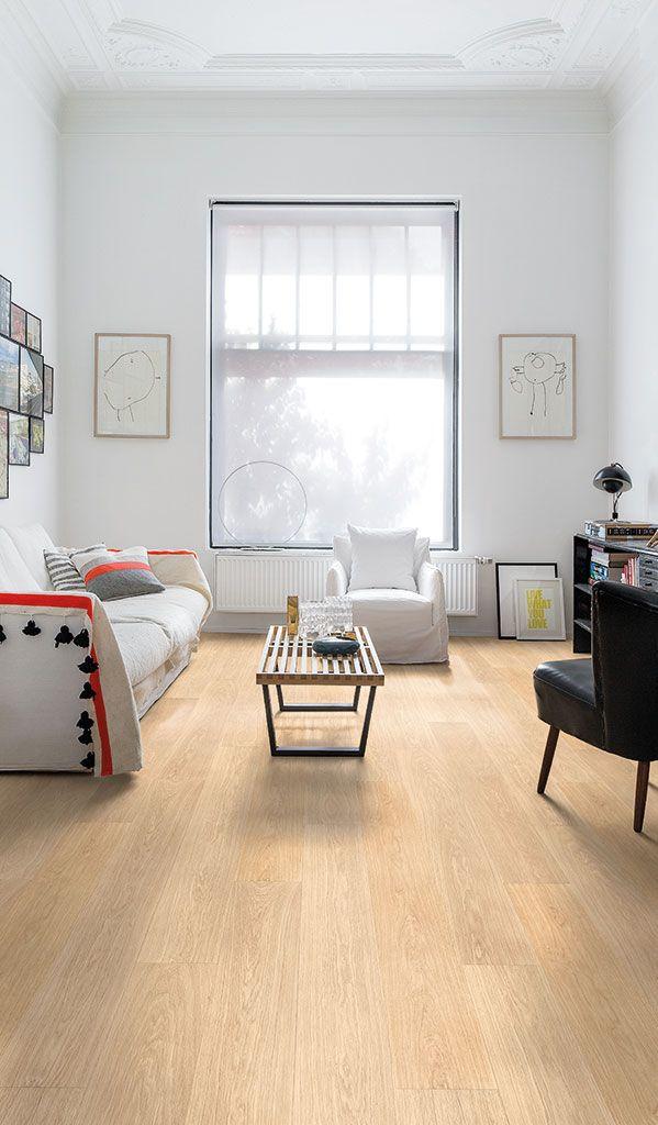 Quick Step Laminate Flooring Largo Lpu1283 White Varnished Oak