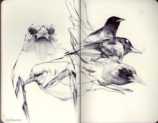 Danny Nguyen  #art #sketchbook #moleskine