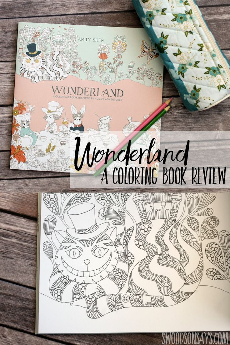 Check Out This Dreamy Adult Coloring Book With Beautiful Alice