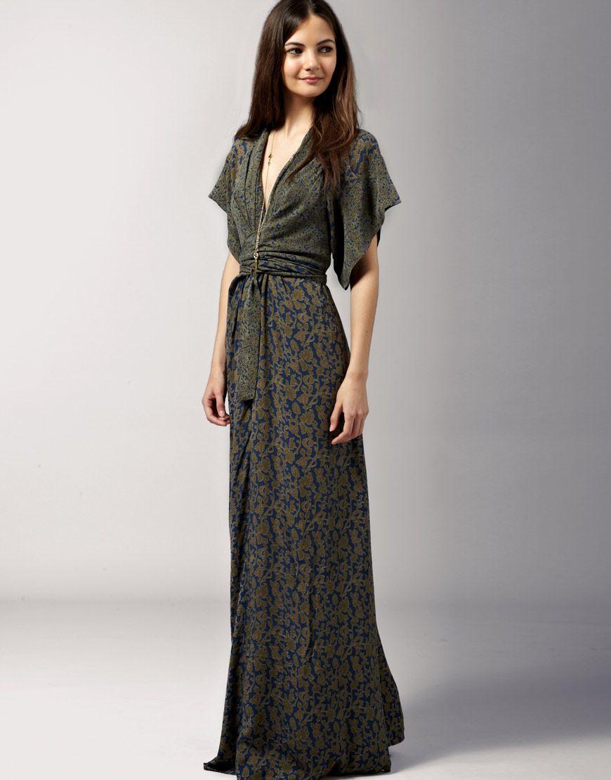 Fashion Dresses Style: Kimono-inspired Dress On Pinterest