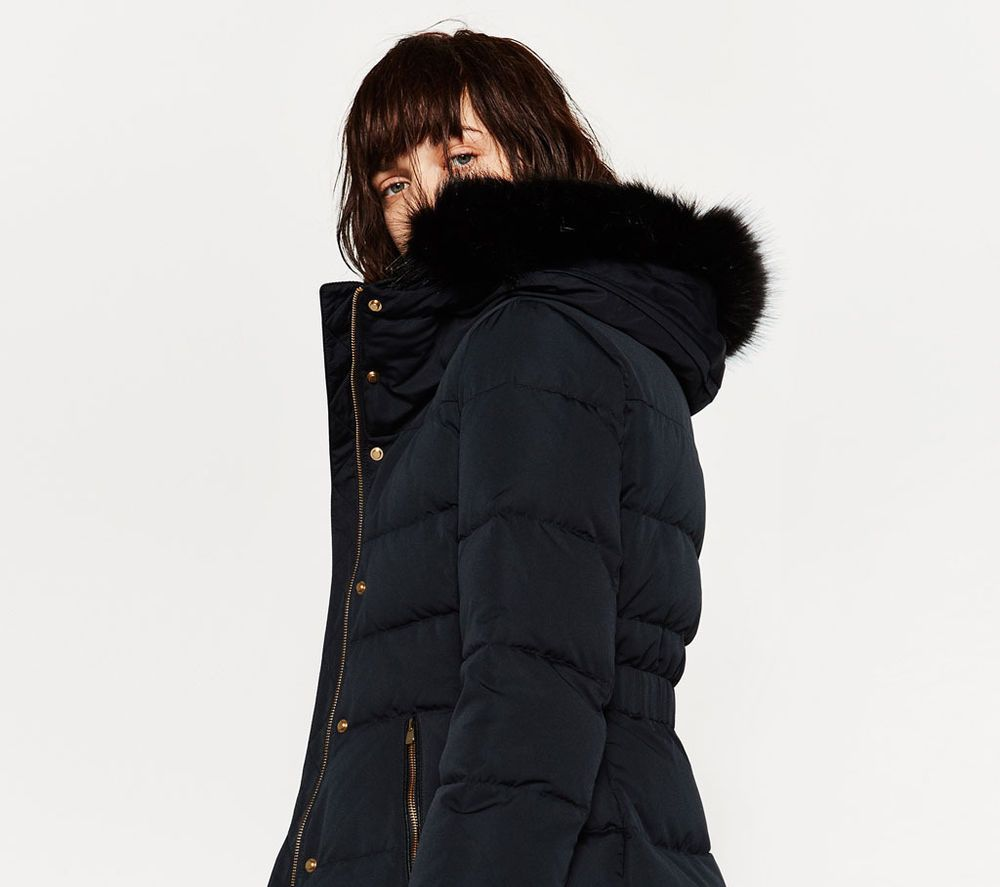 95e886aa Pin by Julija Alimaitytė Vyšniauskienė on ZARA | Puffer coat with ...