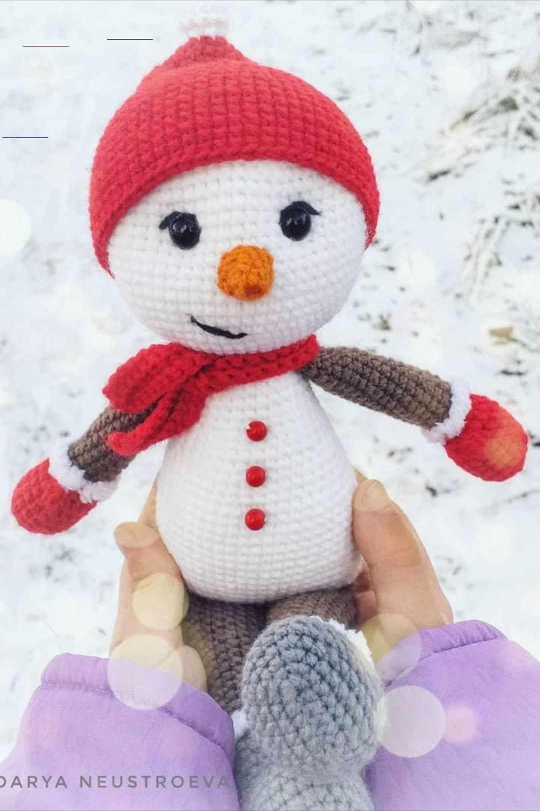 Free Amigurumi Snowman Pattern Snowmanpatterns Here Is A Christmas Snowman Crochet Pattern In 2020 Schneemann Muster Schneemann Hakeln Weihnachtliche Hakelmuster