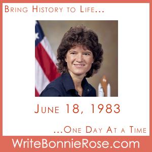 Timeline Worksheet: June 18, 1983, Sally Ride First American Woman ...