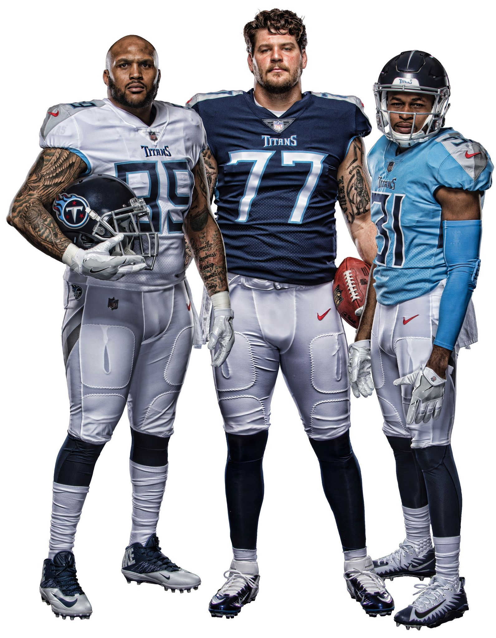 """105c59276 I ll keep wearing my """"old"""" Henry jersey...The Titans Unveil Their New  Uniform Set"""