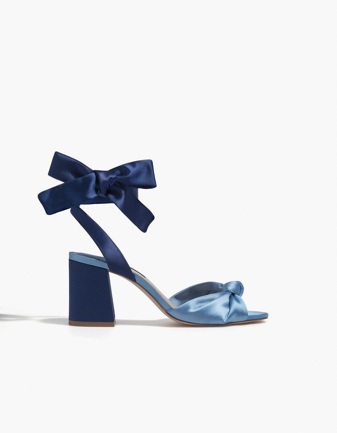 Sandales Satin Shoes Combinées France NouveauStradivarius hoxQCsdBtr
