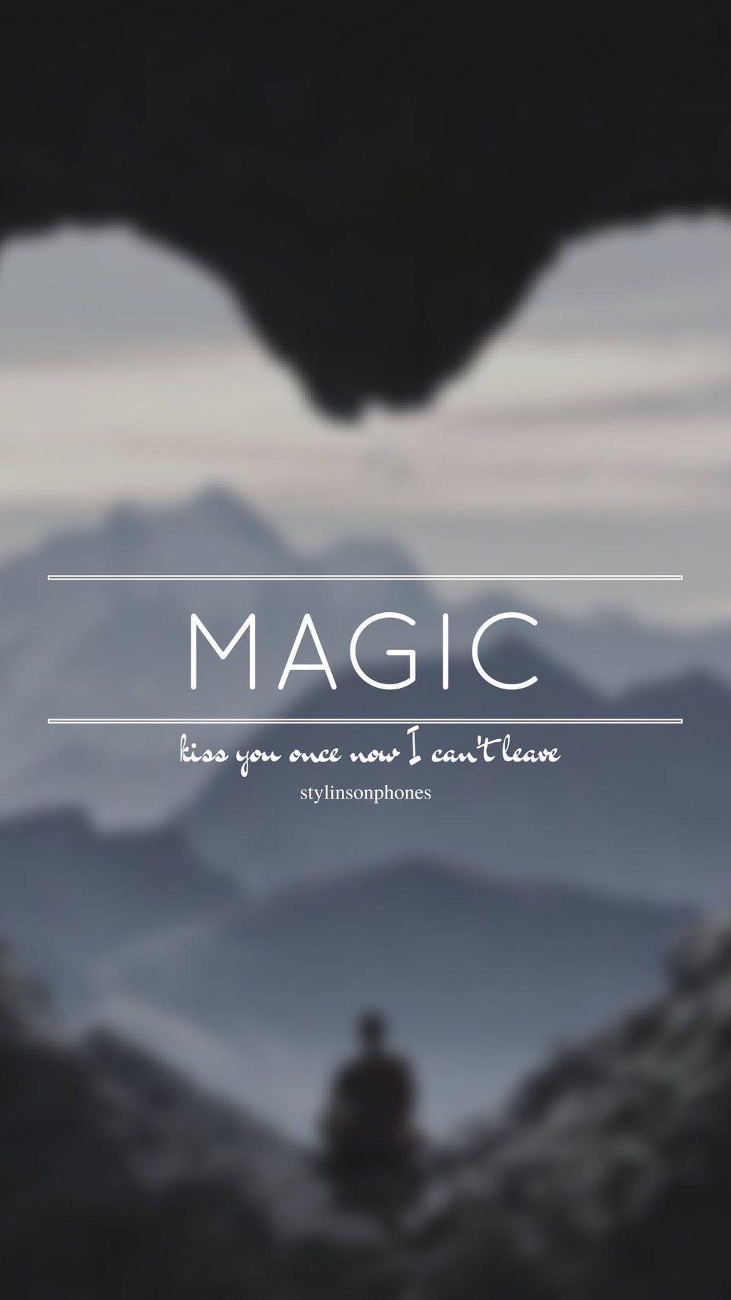One magic kiss lyrics