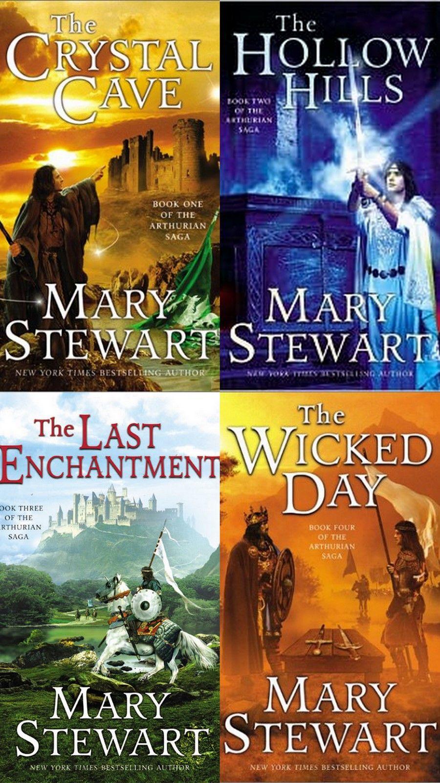The Arthurian Saga, featuring Merlin, Mary Stewart... Loved them