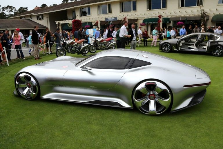 The Mercedes Benz AMG Vision Gran Turismo Concept Is A Rolling Concept That  Can Be Played