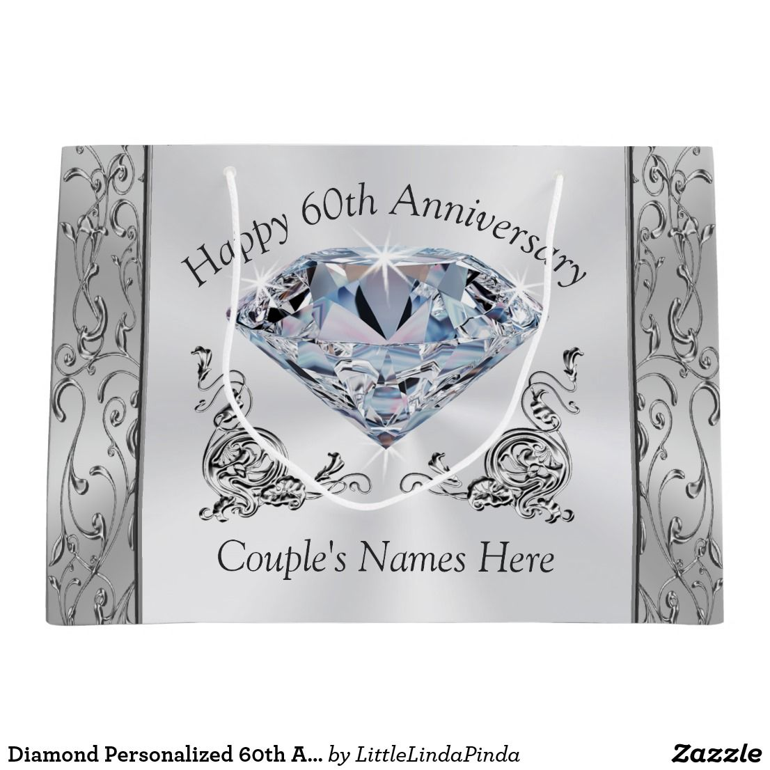 60th wedding anniversary gift bags