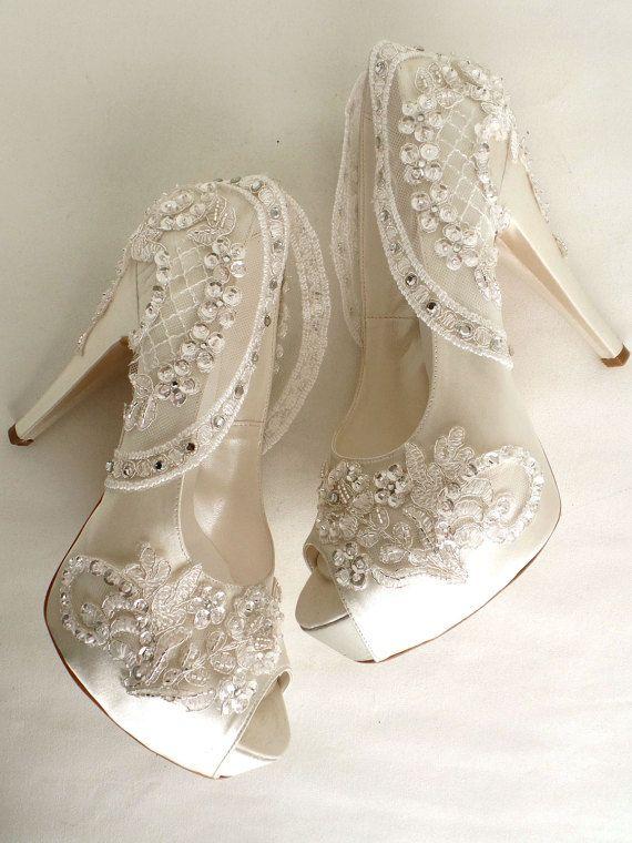615042ca03c Bling Wedding Shoes