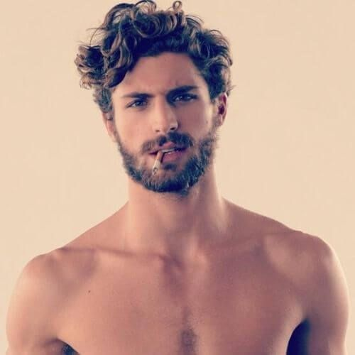 Best Messy Hairstyles For Men In 2020 Hairstyle On Point Mens Messy Hairstyles Curly Hair Men Beard Styles For Men