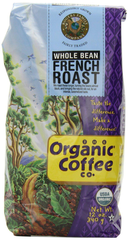 Organic coffee co french roast whole bean coffee 12 oz