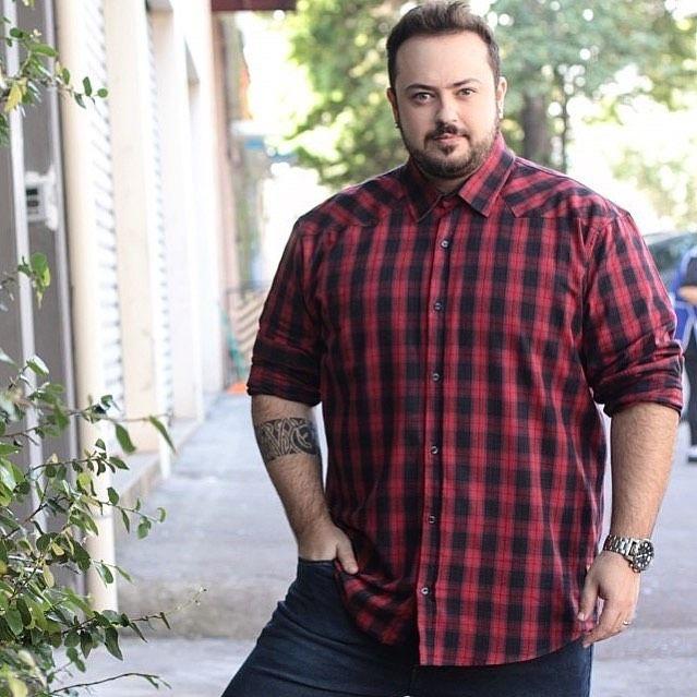 f83c3ea71f9790 Dicas reais de estilo para homens gordinhos! Moda Masculina / Blog ...