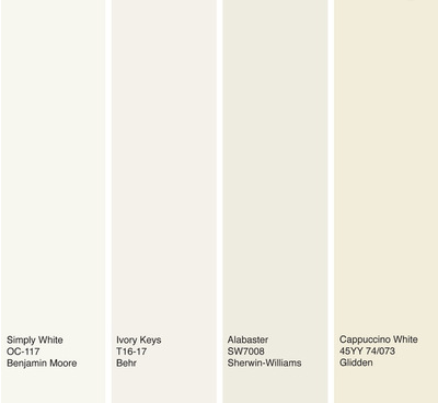Bm Simply White Sherwin Williams Alabaster White Interior Paint White Paint Colors Off White Paint Colors