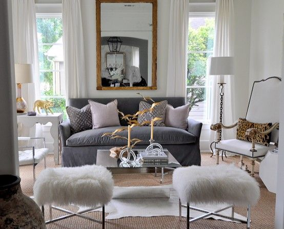 Gray Couch Home Living Room Inspiration Interior