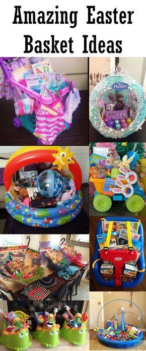 Amazing easter basket ideas 1 for kids pinterest basket amazing easter basket ideas 1 baby food for gavin and books for alyssa negle Images