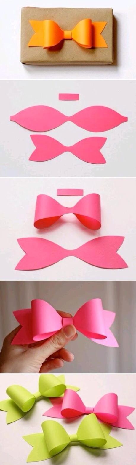 Cute way to make bows