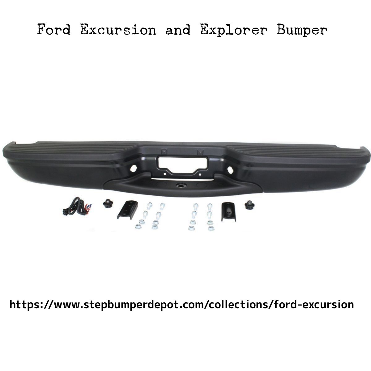 Buy or replace Rear bumpers for Ford excursion and