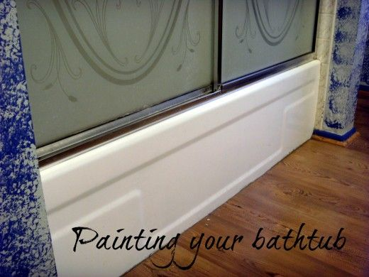How to Refinish and Paint a Bathtub With Epoxy Paint | Bathtubs ...