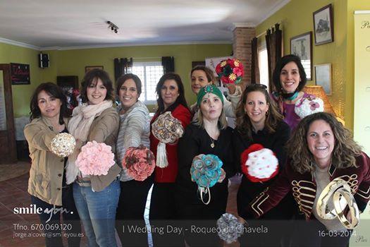 Ramos de flores de tela de Algodón de Luna 606619349 o algodondeluna@gmail.com