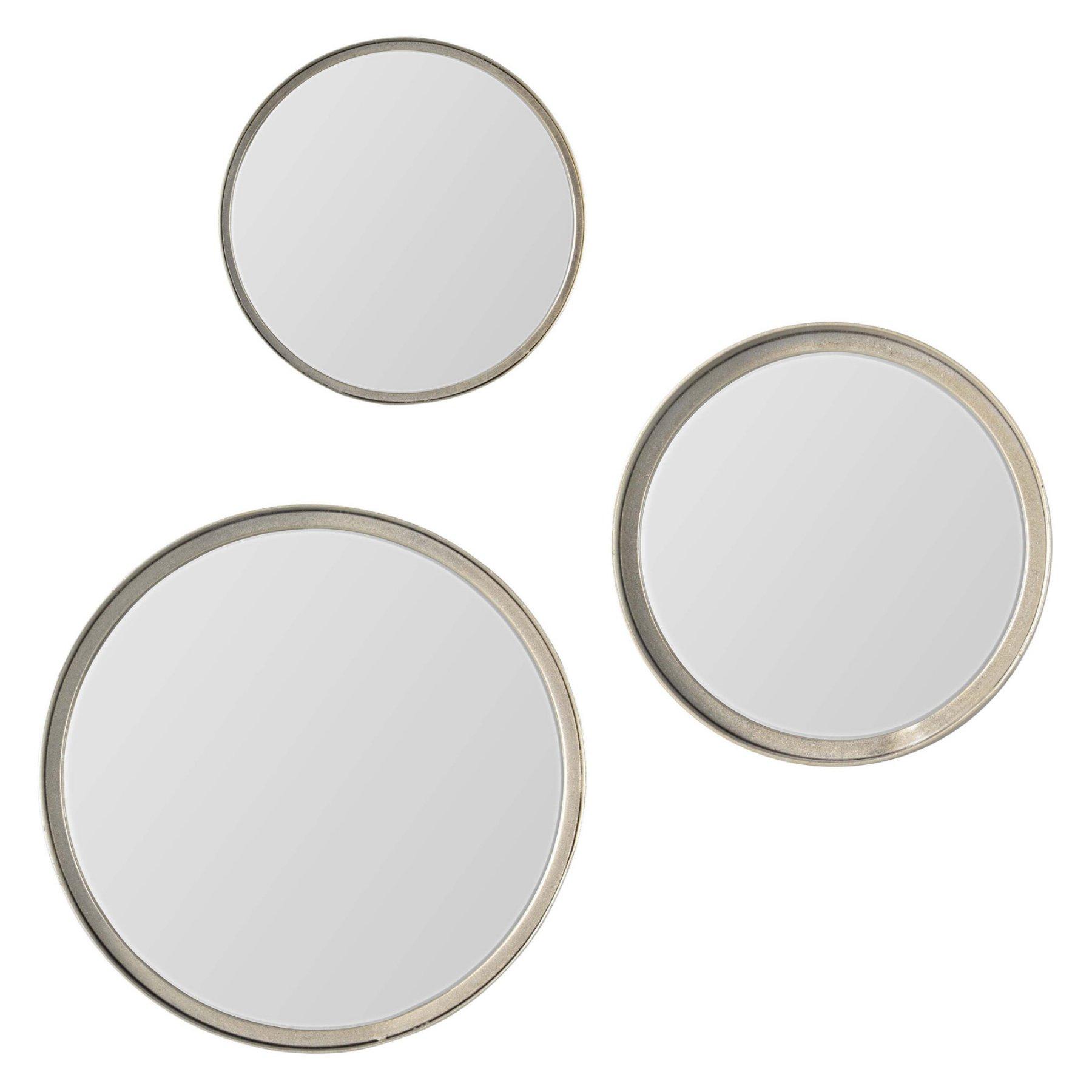 Renwil Volta Round Wall Mirror  Set Of 3