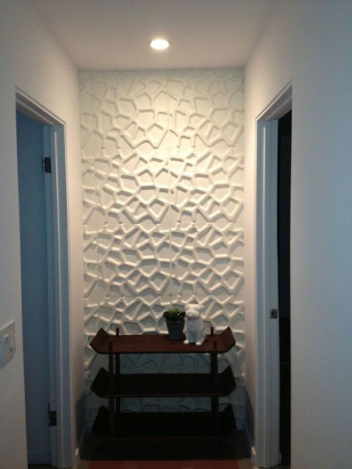 panneau mural 3d pas cher bote de panneaux muraux d squares un carr pas comme les autres ce. Black Bedroom Furniture Sets. Home Design Ideas