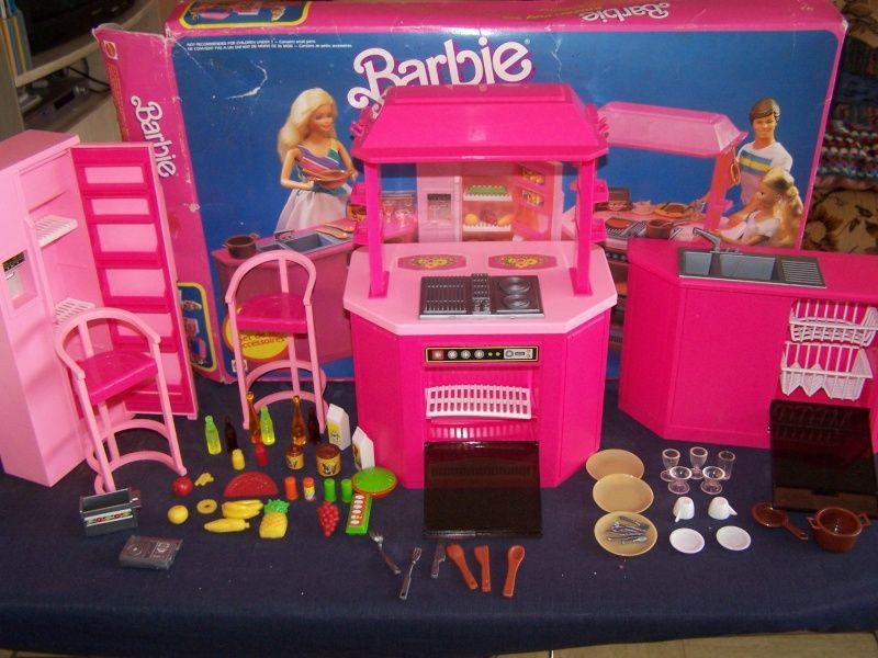 cuisine barbie achete en brocante - Cuisine Barbie