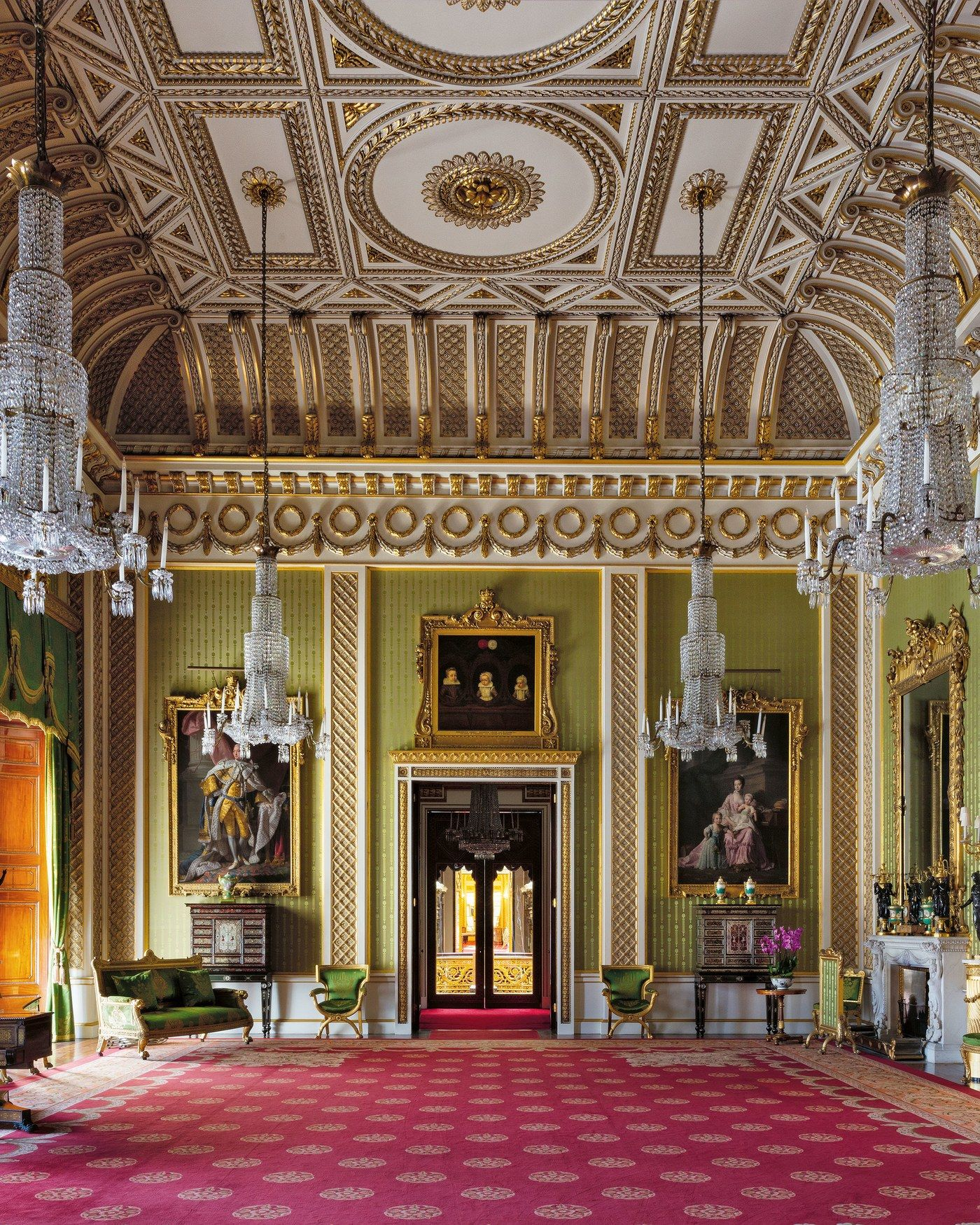 Inside Buckingham Palace's Resplendent, Never-Before-Seen