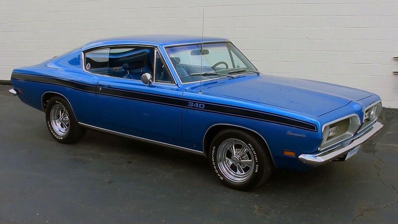 1969 Plymouth Barracuda 340 Rare Mopar Muscle Car