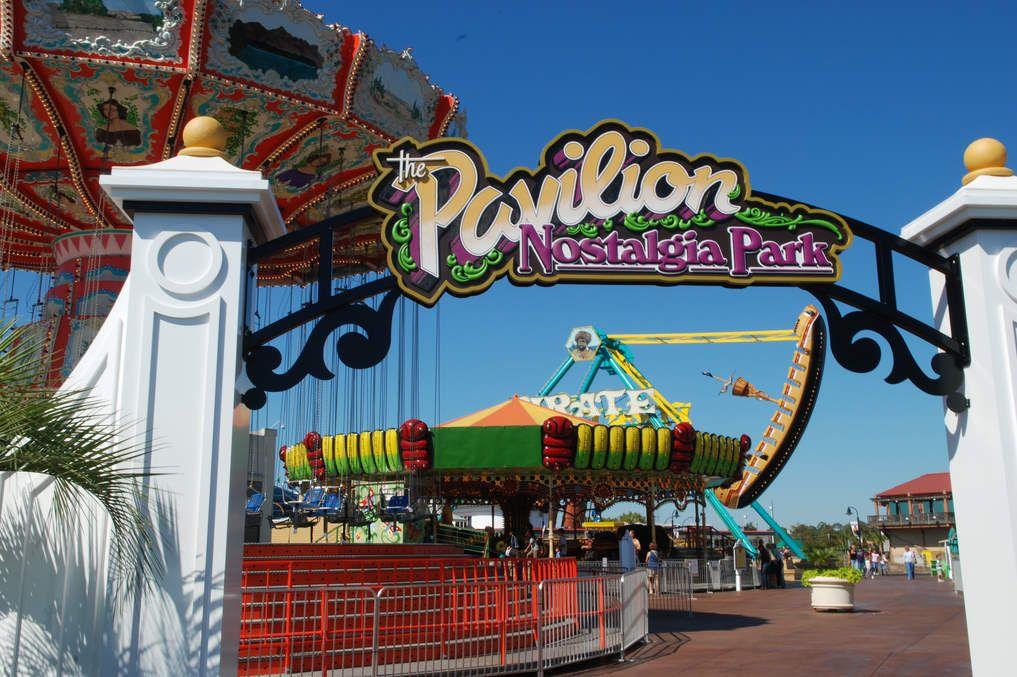 Current Pavilion Nostalgia Park Logo Used At Entrance To East Park