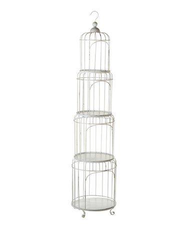 Look At This Zulilyfind Nested Tiered Birdcage Shelf