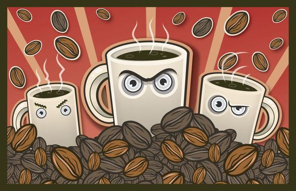 A Story About Coffee on Behance