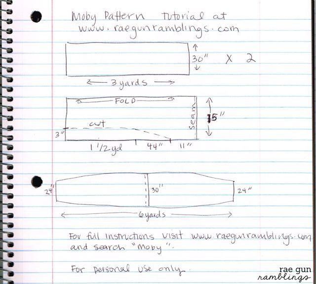 How to Make A Moby Wrap Baby Carrier | Armas, Bebé y Ideas de costura