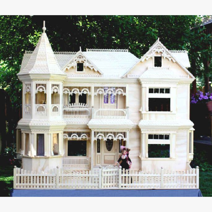 Victorian Doll House Plan Doll House Plans Dollhouse Woodworking Plans Barbie Doll House