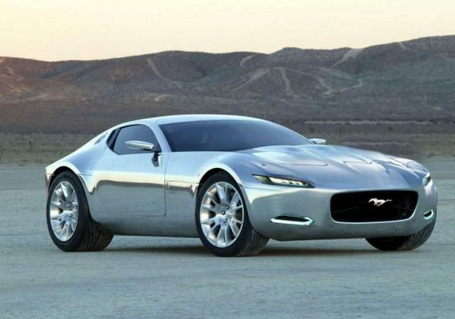 2015 ford mustang concept front view 2 - Sports Cars 2015 Mustang