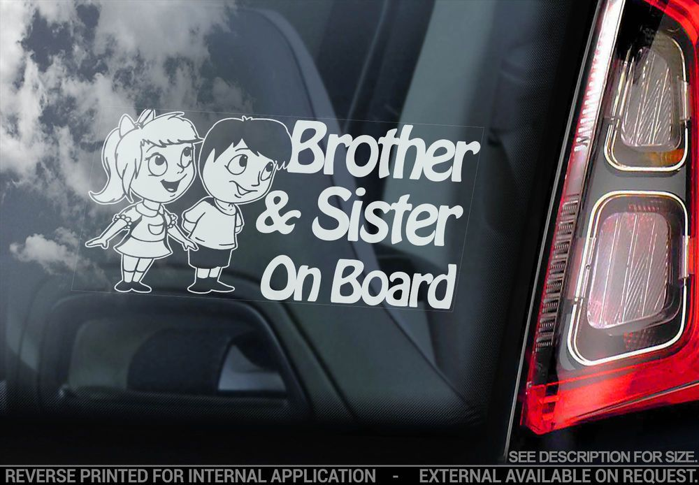 Car signs CHILD ON BOARD