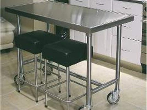 Stainless Steel Movable Kitchen Island Space Saver Movable Stainless Steel  Kitchen Islands