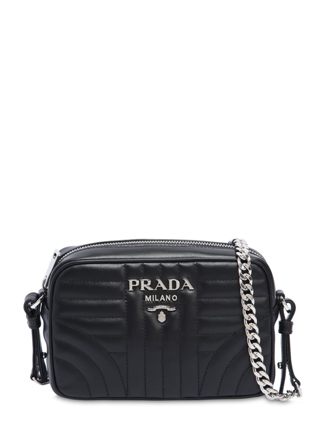 9e41b128e8ec PRADA SMALL QUILTED SOFT LEATHER CAMERA BAG. #prada #bags #shoulder bags # leather #