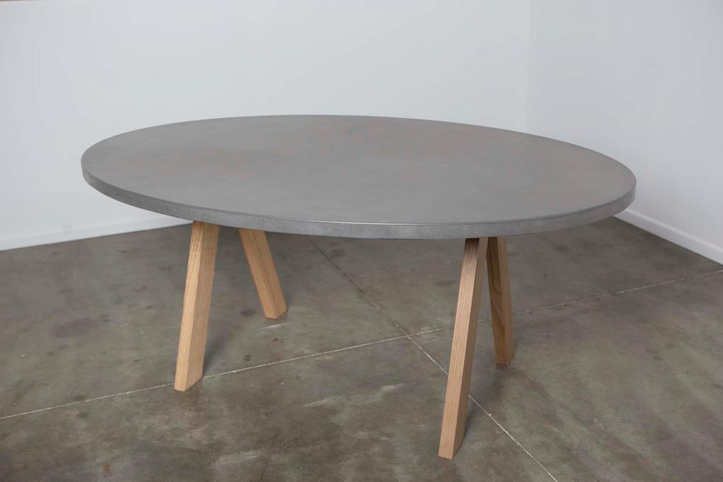 Aurora Oval Concrete Dining Table Concrete Design House Concrete Dining Table Table Dining Table