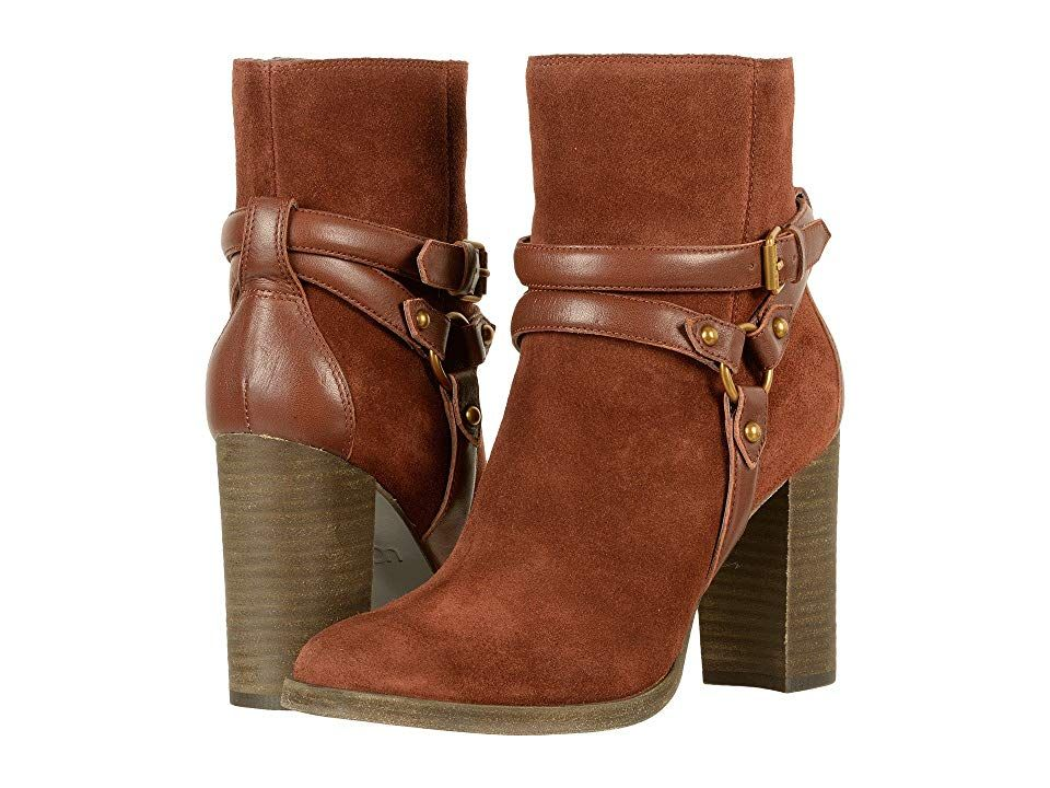 Boots, Ugg boots, Leather block heels