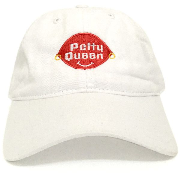 Petty Queen Dad Hat ( 23) ❤ liked on Polyvore featuring accessories ... 2e0bf0f73dc1