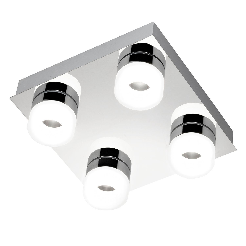 Deckenleuchte Led Dimmbar Eckig Flur Lampe Mit Bewegungsmelder
