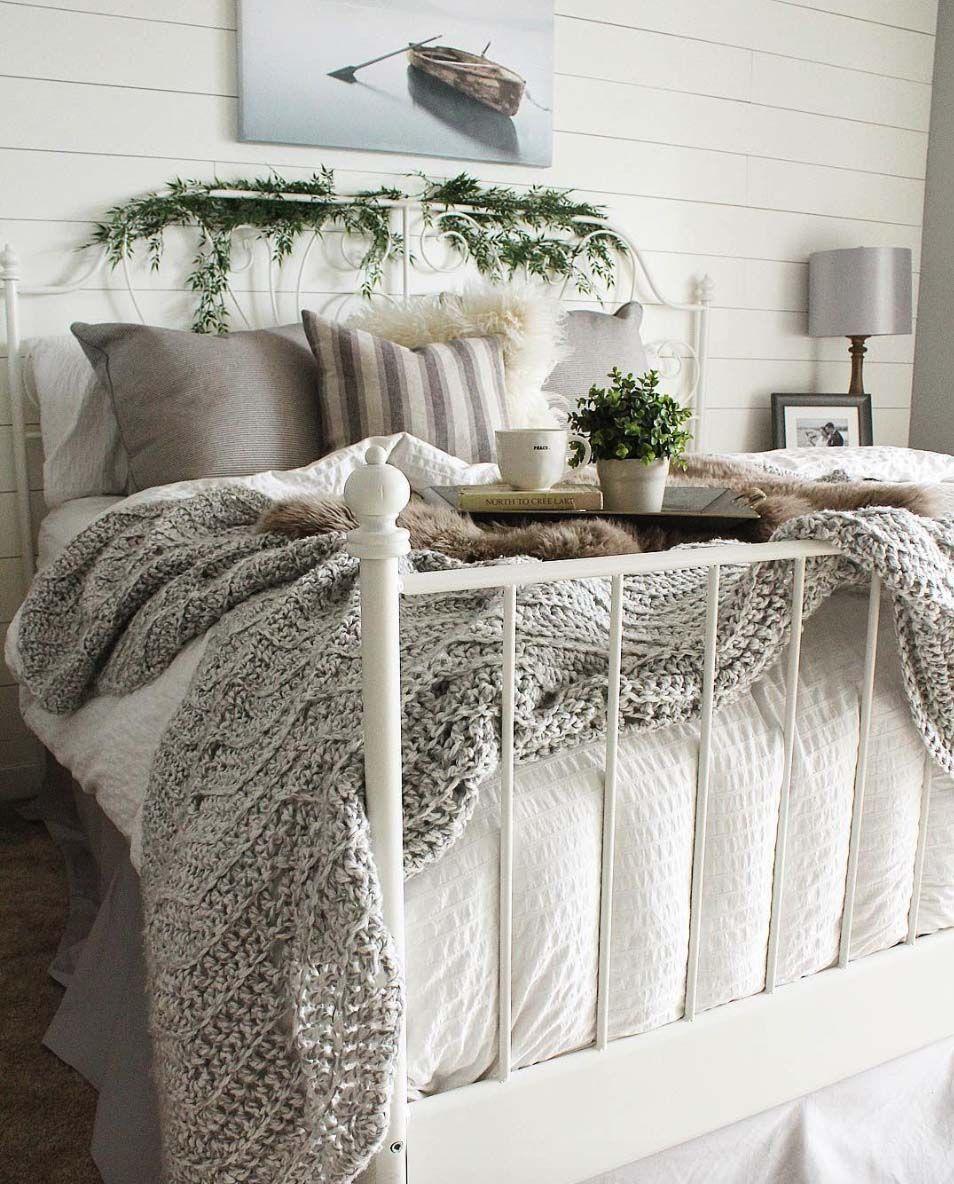 37 Ultracoole Dekorationsideen für den Winter #cozybedroom